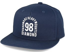 Access Navy Snapback  - Diamond