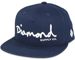 Script Navy Unconstructed - Diamond