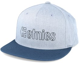 Corporate 5 Grey Snapback - Etnies