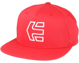 Icon 7 Red Snapback - Etnies