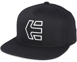 Icon 7 Black Snapback - Etnies