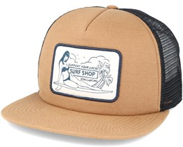 Tribong Brown Snapback - Billabong