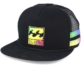 Reissue Trucker Black Snapback - Billabong