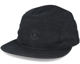 Beveled Hybrid 7-panel Black Adjustable - Crooks & Castles