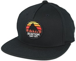 Kids Boys Underhill True Black Snapback - Burton