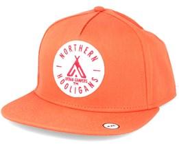 The Urban Campers Orange Snapback  - Northern Hooligans