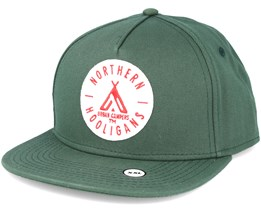 The Urban Campers Green Snapback - Northern Hooligans
