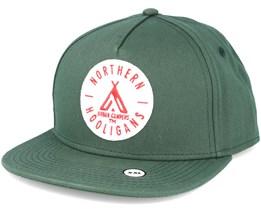 The Urban Campers Green Snapback - Northern Hooligans