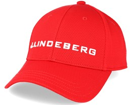 Aiden Pro Poly Red Adjustable - J.Lindeberg