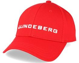 Aiden Pro Poly Red Adjustable - J.Lindeberg