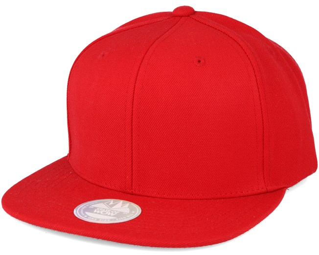 One Tone Red Snapback - State of wow keps - Hatstore.se bbcfa725cdfa8