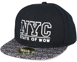 Kids Toronto 2 JR Black Snapback - State of wow