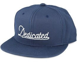 Old Script Navy Snapback - Dedicated