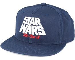 Star Wars Nippon Navy Snapback - Dedicated