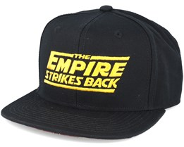 The Empire Black Snapback - Dedicated