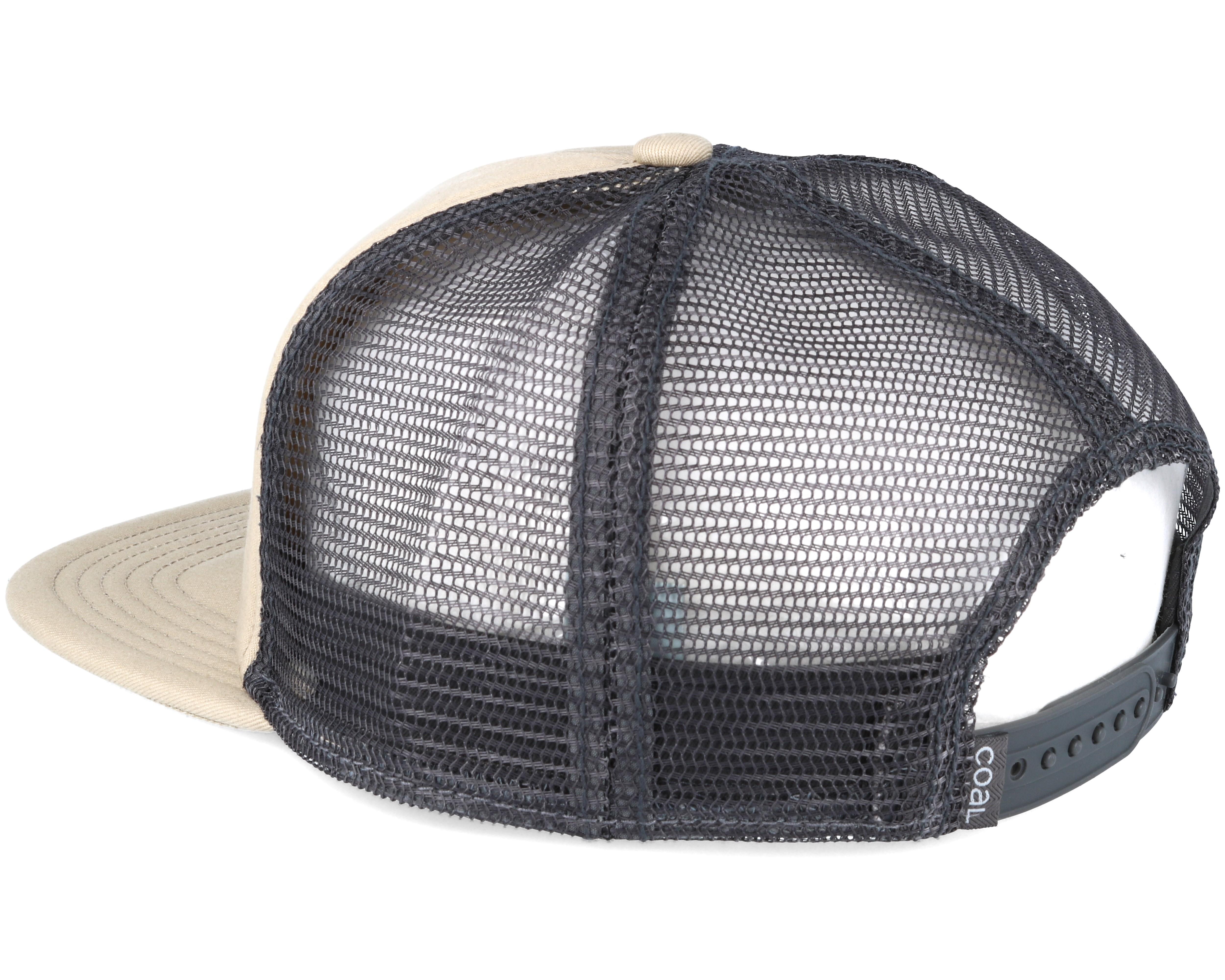 The bureau beige snapback coal caps for Bureau quiksilver