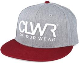CLWR Grey Melange Snapback - CLWR