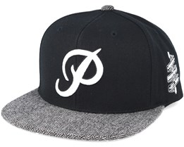 Classic P Black Snapback - Primitive Apparel
