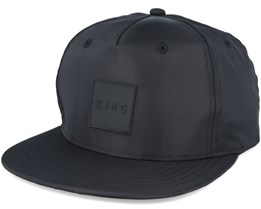 Performance Nylon Black Snapback - King Apparel
