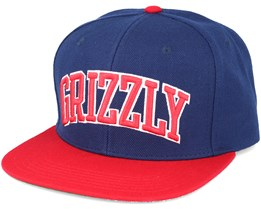 Top Team Blue Snapback - Grizzly