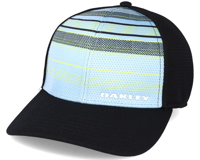 Silicone Bark Trucker Print 2.0 Light Blue Black Flexfit - Oakley ... f0524efa83d