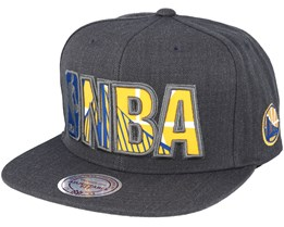 Golden State Warriors Insider Reflective Grey Snapback - Mitchell & Ness