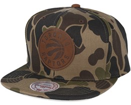 Toronto Raptors Lux Camo Strapback Adjustable - Mitchell & Ness