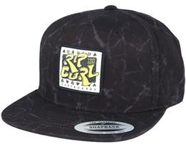 Rad Black Snapback - Rip Curl