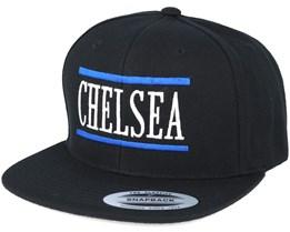 Chelsea Black Snapback - Forza