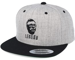 Legend Grey/Black Snapback - Forza