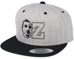 Ztar Grey/Black Snapback - Forza
