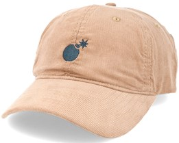 Solid Bomb Dad Beige Adjustable - The Hundreds