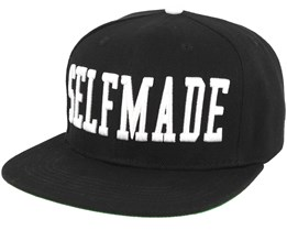 Selfmade Black/White Snapback - Galagowear