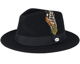Martino Black Fedora - Headzone