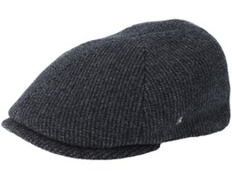 Sixpence Dark Grey Flat Cap - City Sport