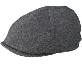 Sixpence Stripe Dark Grey Flat Cap - City Sport