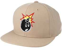 Adam Khaki Snapback - The Hundreds