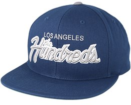 Team Two Navy Snapback - The Hundreds