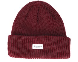 Crisp 2 Burgundy Beanie - The Hundreds