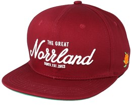 Great Norrland Maroon Snapback - Sqrtn