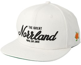 Great Norrland White Snapback - Sqrtn