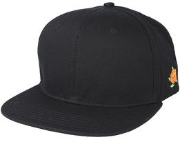 Cloudberry Side Black Snapback - Sqrtn