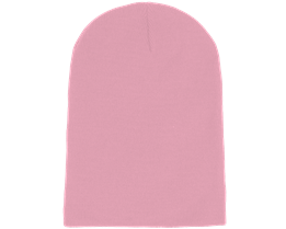 Long Beanie Classic Pink - Beanie Basic