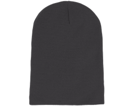 Long Beanie Graphite Grey - Beanie Basic