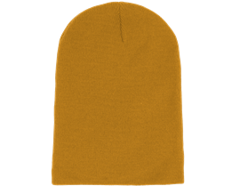 Long Beanie Mustard - Beanie Basic