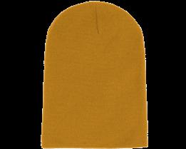 Long Beanie Mustard - Beanie Basic