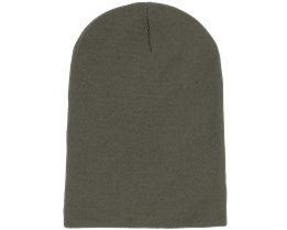 Long Beanie Olive - Beanie Basic