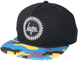 Camo Black/Camo Snapback - Hype