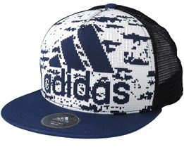 Trucker 73 White/Black Snapback - Adidas