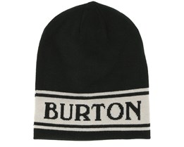 Billboard Slouch True Black Beanie - Burton